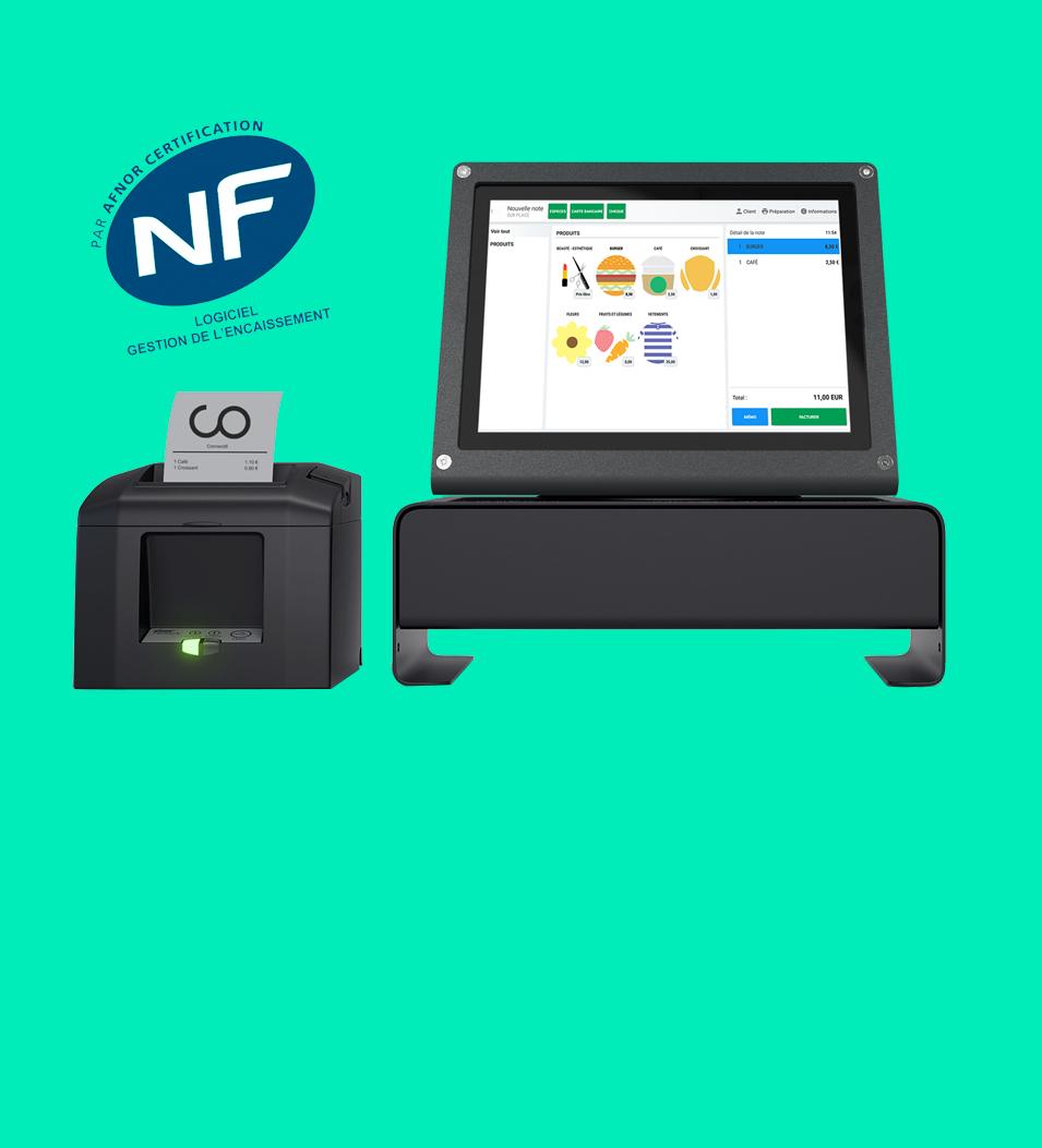 Caisse enregistreuse Android NF525